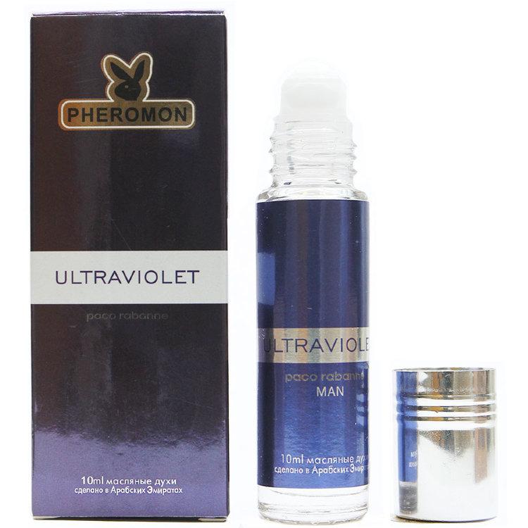 Масляные духи с феромонами Paco Rabanne Ultraviolet Men 10ml
