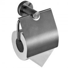 Держатель для туалетной бумаги с крышкой Savol S-005651 сатин