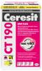 Штукатурно-Клеевая Смесь Ceresit CT 190 MW Flex  25кг для Минеральных Плит / Церезит СТ 190