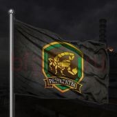 Флаг группировки Ренегаты сталкер