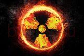 Флаг знак радиации