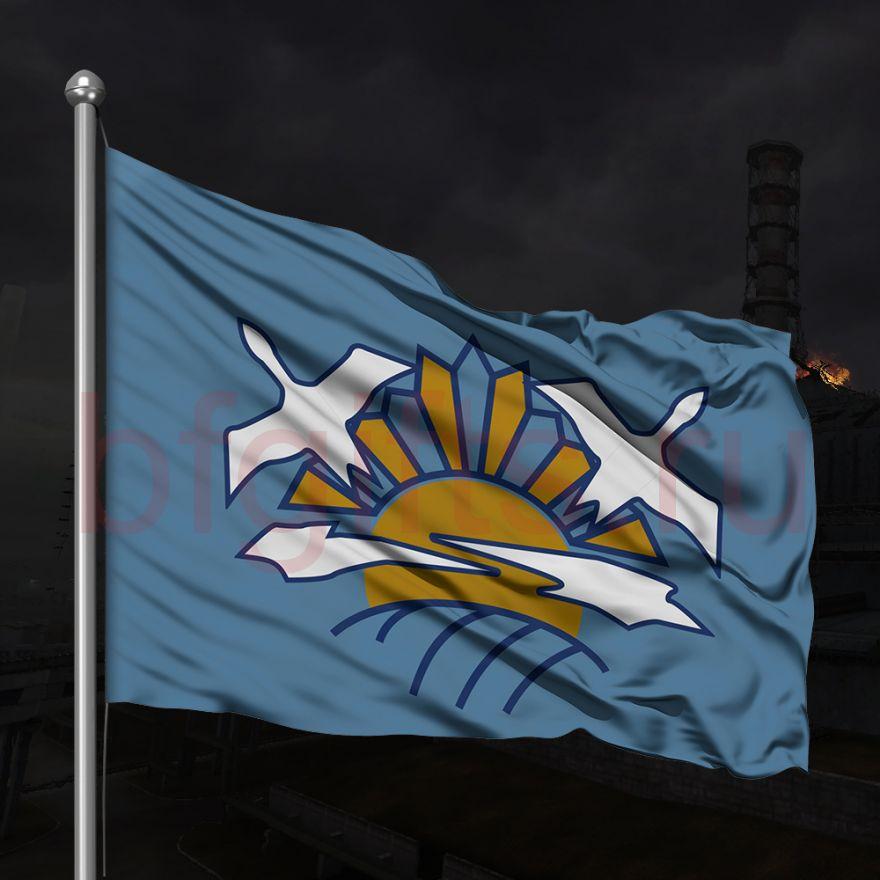 Флаг Чистого неба №2, под заказ