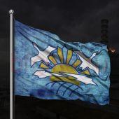 Флаг группировки Чистое небо сталкер