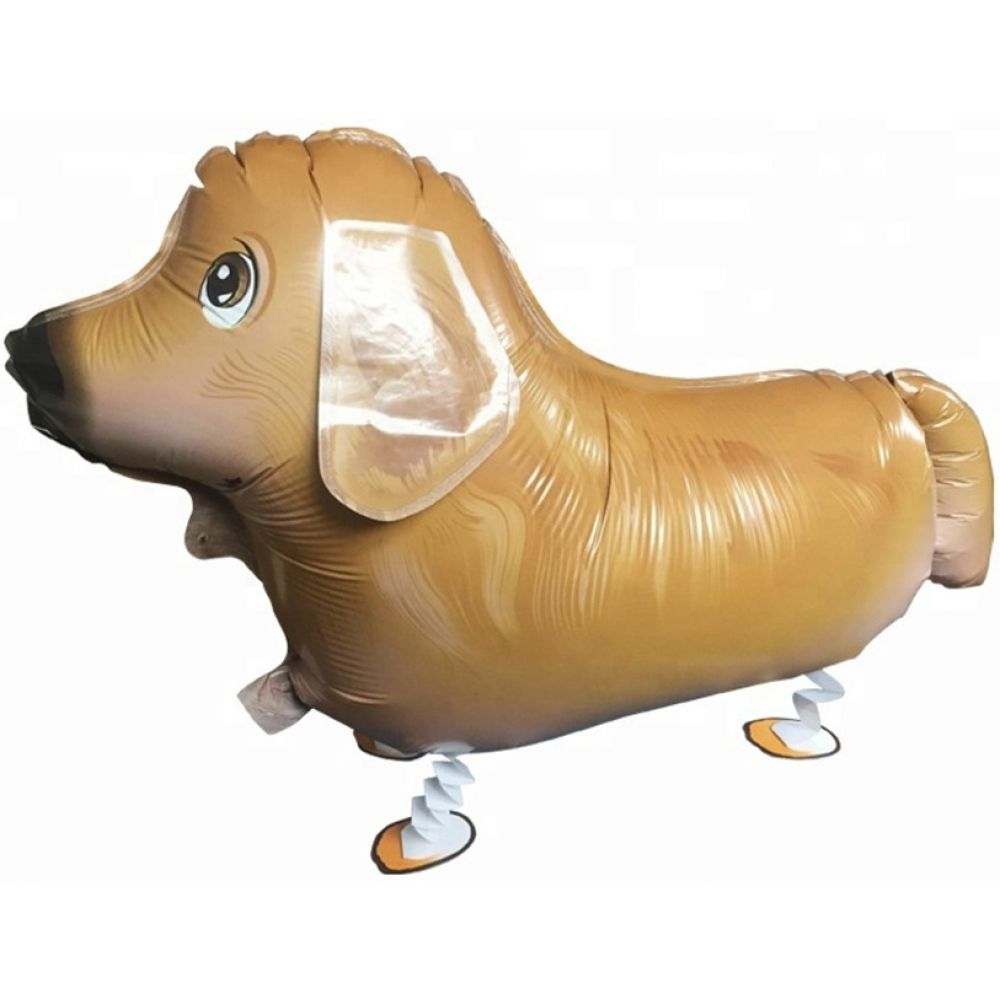 Лабрадор Асти ходячий шар фольгированный с гелием