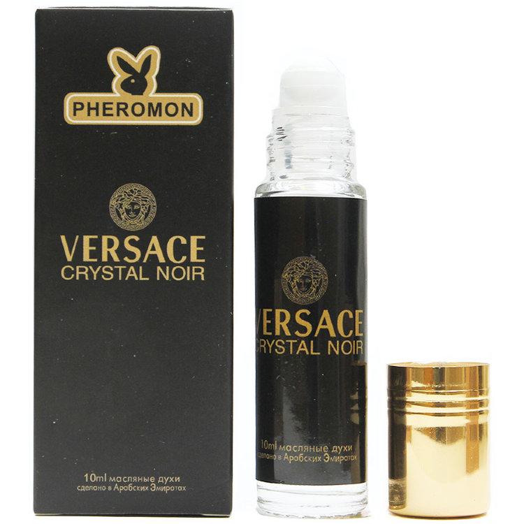 Масляные духи с феромонами Versace Crystal Noir 10ml