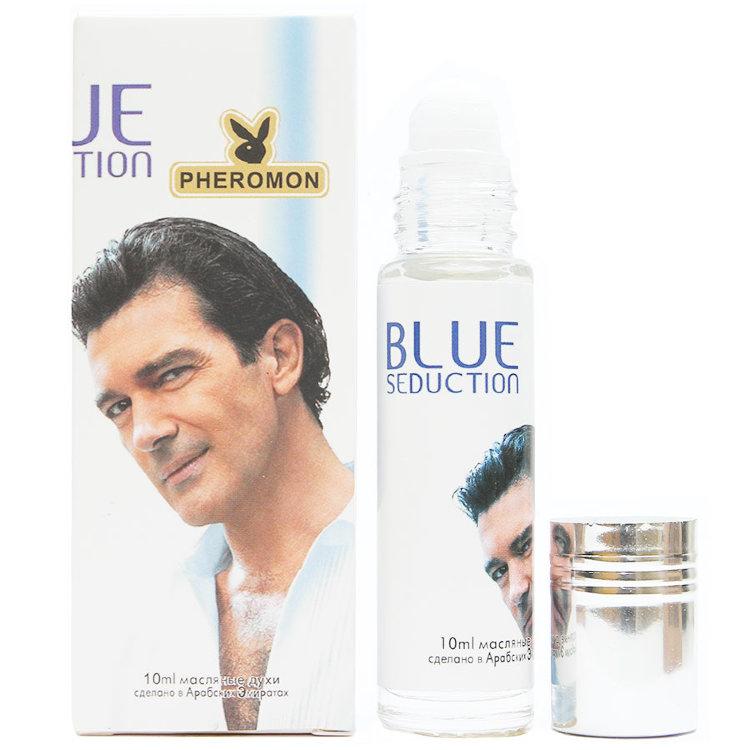Масляные духи с феромонами Antonio Banderas Blue Seduction For Men 10ml