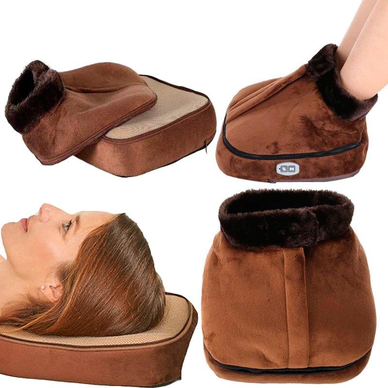 Массажёр тепловой для ног 2 в 1 Warm Massager