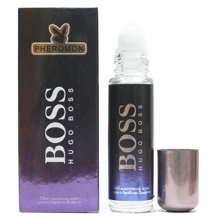 Масляные духи с феромонами Hugo Boss Bottled Night 10ml