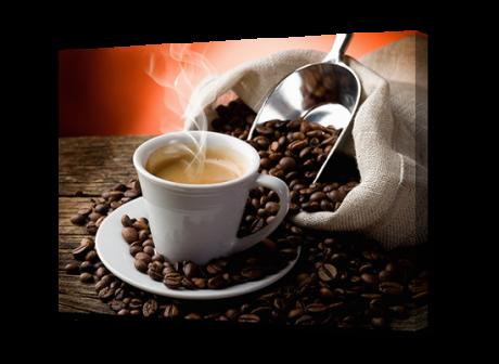 Картина на холсте Кофе и зерна