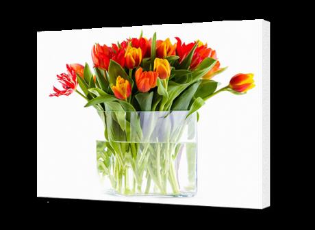Картина на холсте Букет тюльпанов