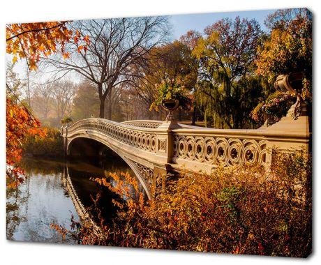 Картина на холсте Центральный парк Нью-Йорка