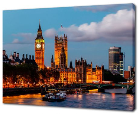Картина на холсте Вечерний Лондон