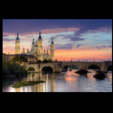 Картина на холсте Величественный дворец