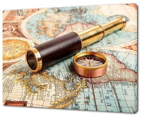 Картина на холсте Труба и компас