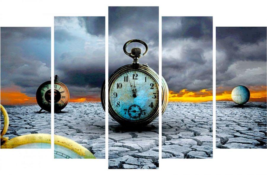 Модульная картина Конец времени