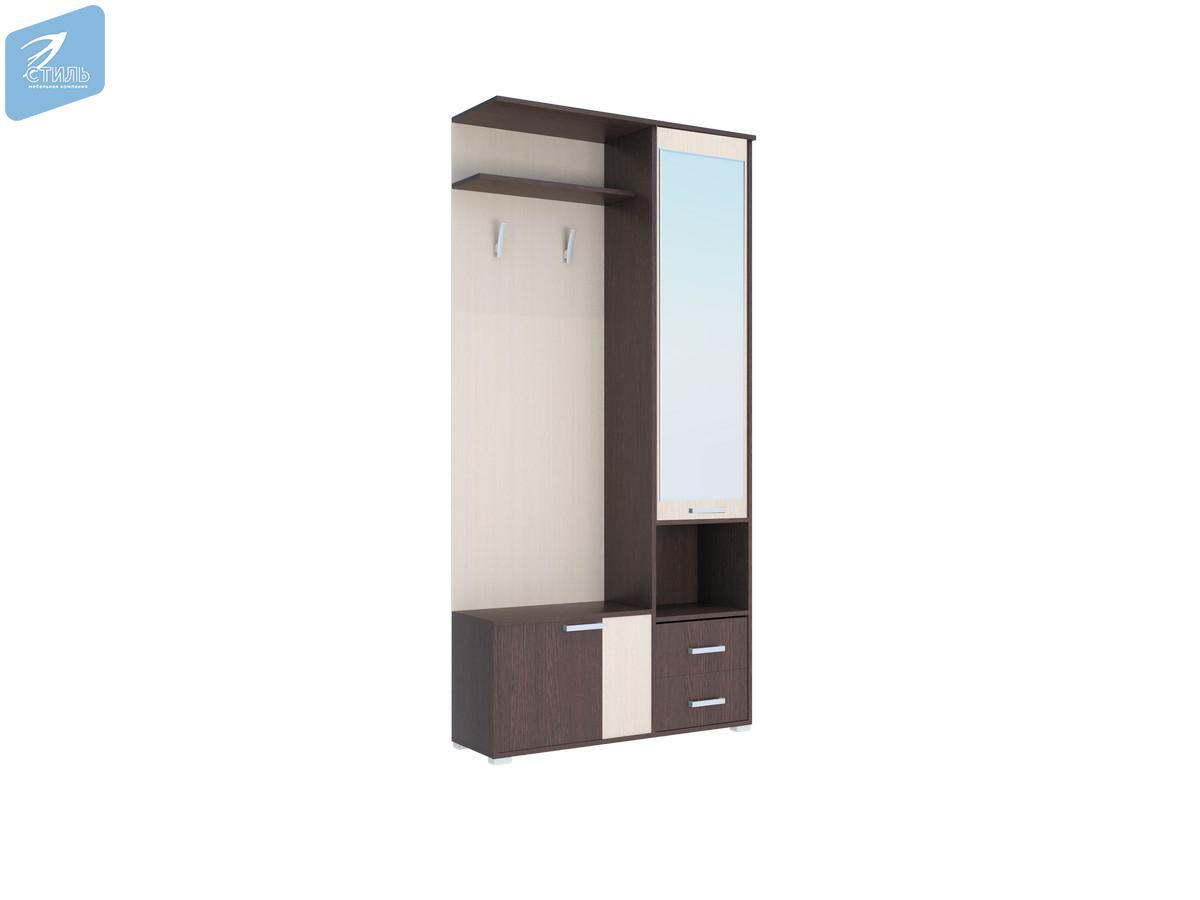 Шкаф с зеркалом Домино А