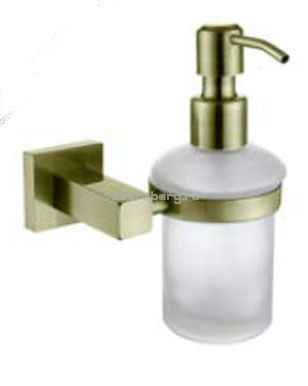 Дозатор для жидкого мыла настенный Kaiser Canon Br KH-4310 бронза