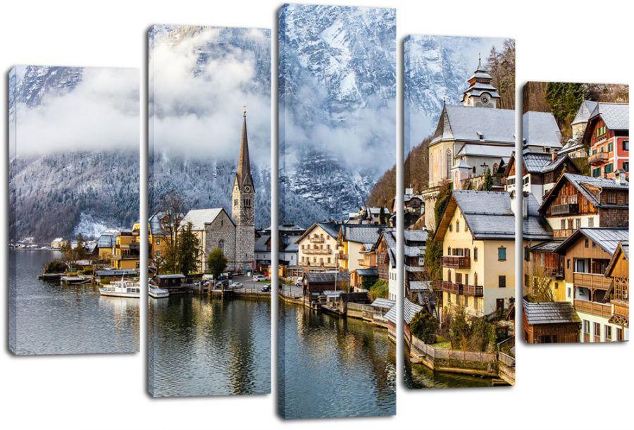 Модульная картина Австрия