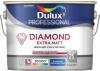 Краска износостойкая Dulux Diamond Extra Matt 2.5л для стен и потолков глубокоматовая