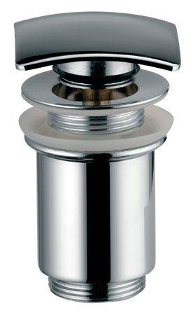 Донный клапан Kaiser 8033 автомат, металл (хром)