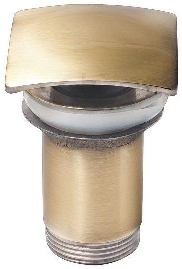Донный клапан Kaiser 8033 автомат, металл (бронза)