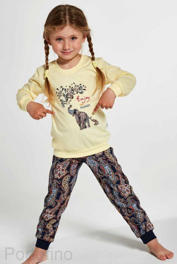 592-133 Пижама для девочек Cornette