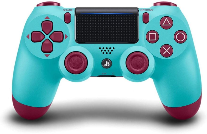 Геймпад Sony Dualshock 4 (ver.2) Berry Blue (PS4)