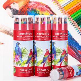 Акварельные карандаши Hero  набор 36 цветов