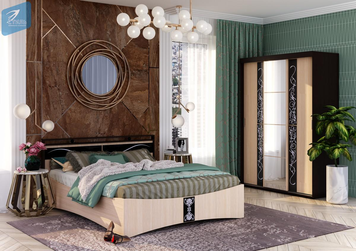 Кровать 1,6 м Вега КР-01