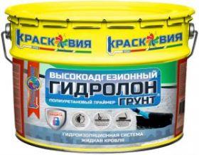Грунт для Системы Жидкая Кровля Краско Гидролон-Грунт 10л Полиуретановый, Высокоадгезионный, Быстросохнущий