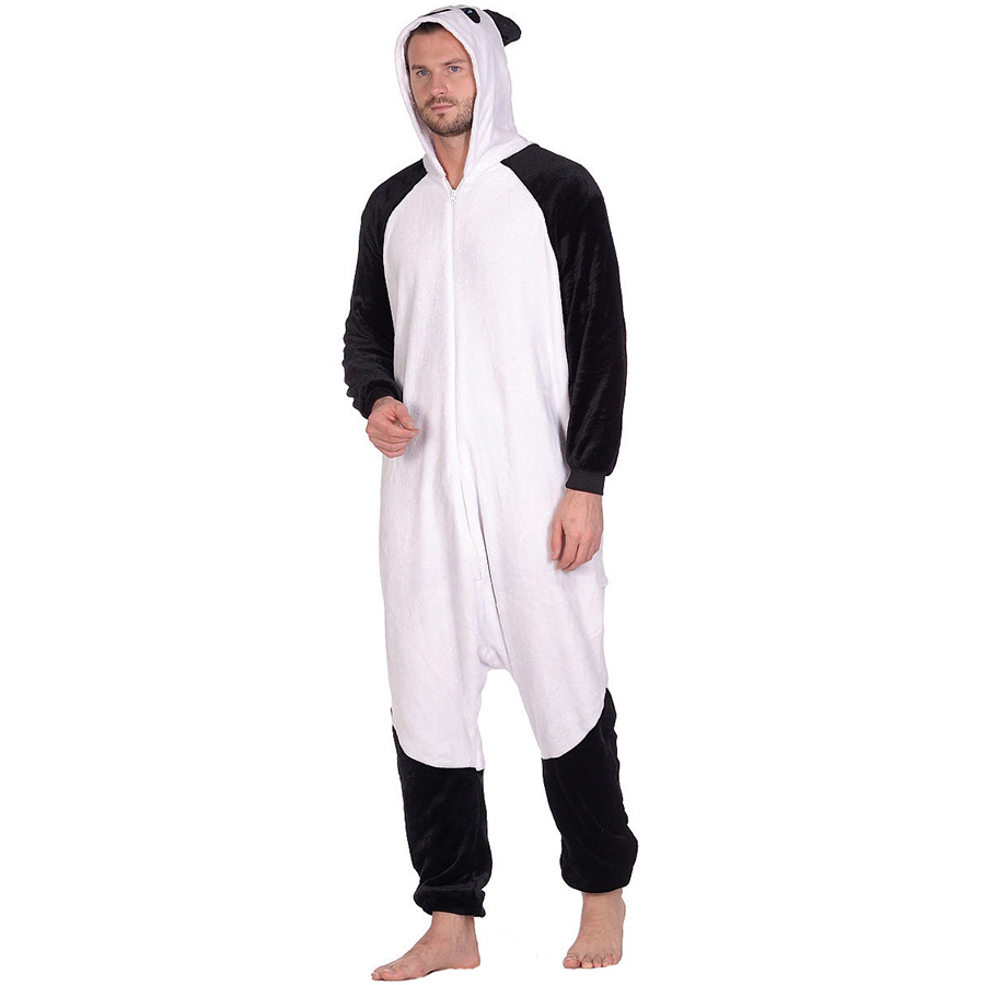 Пижама Кигуруми Панда Белая