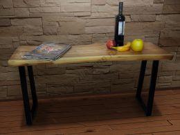 Журнальный  стол из Слэба   Сибирский карагач