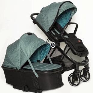 Коляска детская 2в1 ТМ BabyZz, Модель В102 зеленая