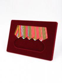 Вставка «Моя коллекция Standart» для 5-ти медалей на единой планке