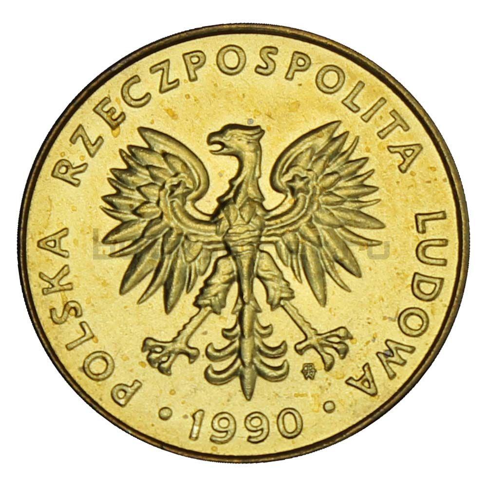 10 злотых 1990 Польша