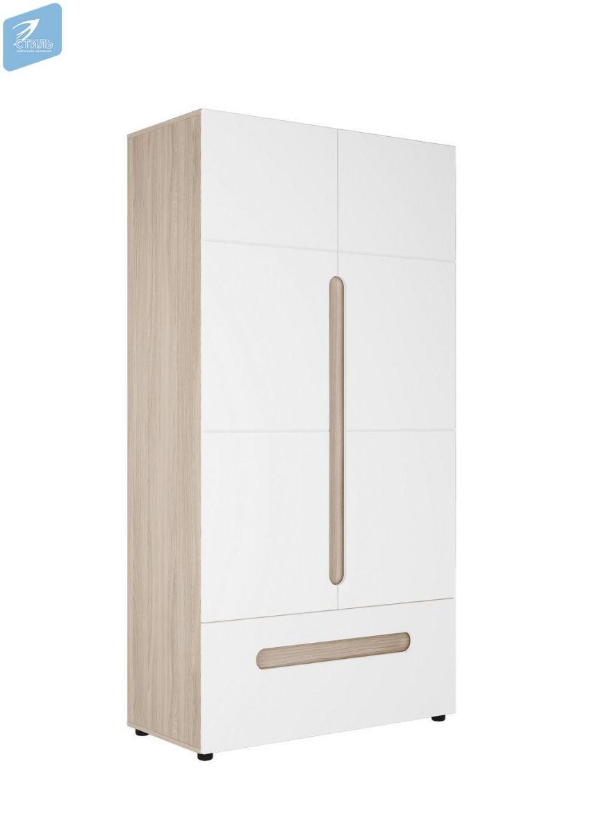 Шкаф 2-х створчатый комбинированный Палермо-3 ШК-009