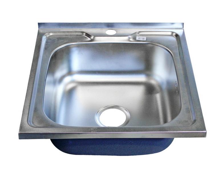 Накладная мойка для кухни из нержавеющей стали Frap FD5060