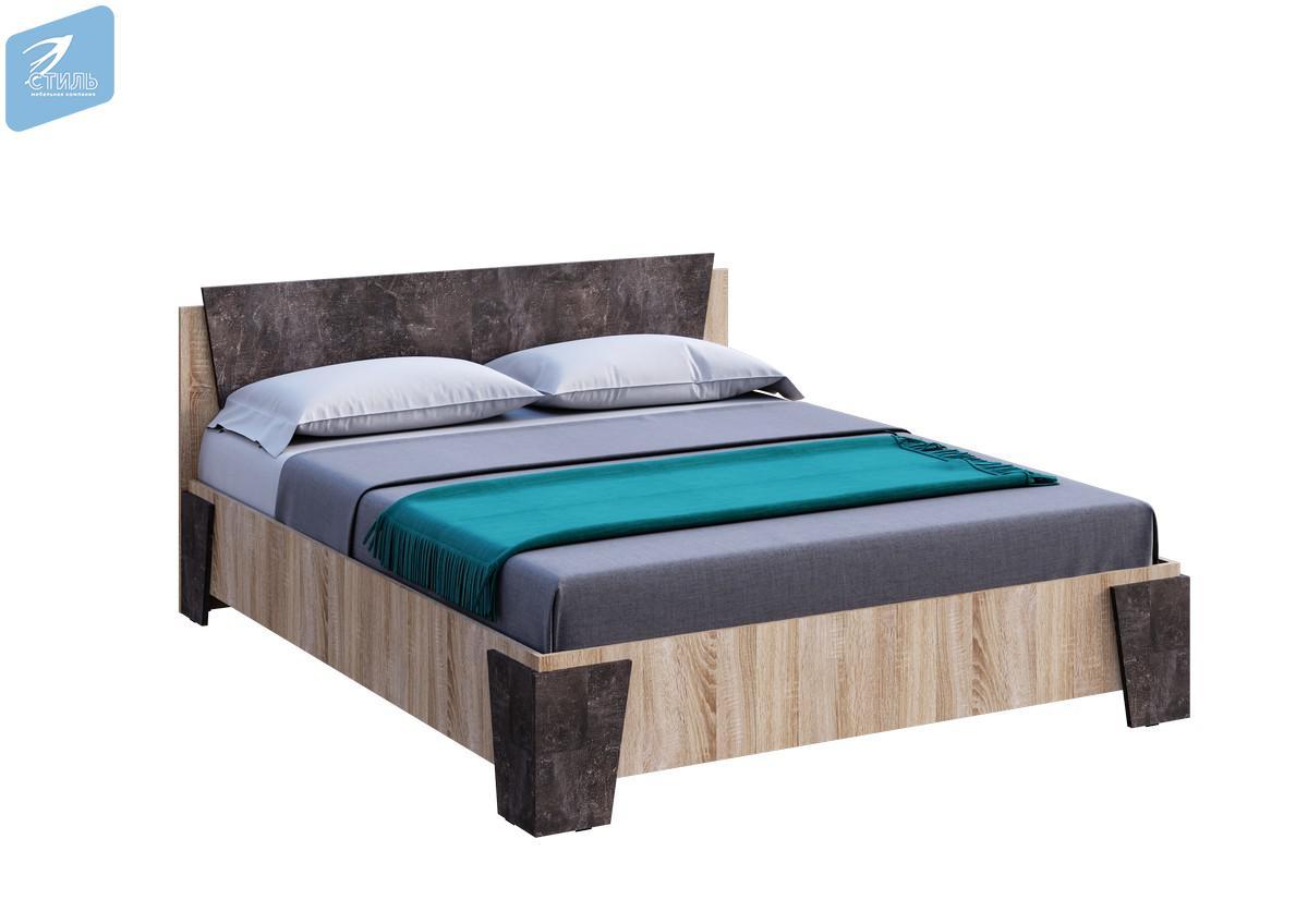 Кровать двухспальная 1,6 м. Санремо КР-001