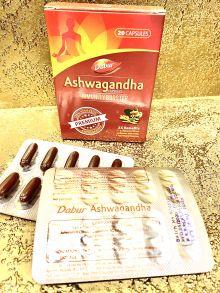 Ашвагандха,  Immunity Booster, 20 таб х 300 мг Ashwagandha Dabur