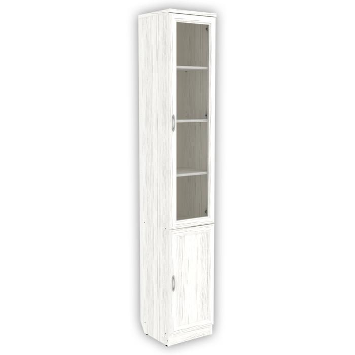 Шкаф для книг узкий арт. 203 (арктика)