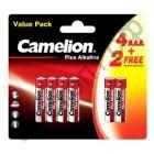 Camelion LR03 BL-6 (4+2) Plus Alkaline (72)