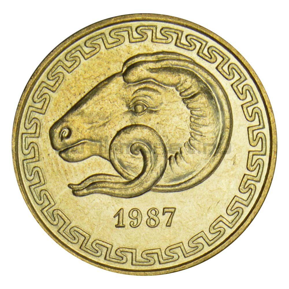 20 сантимов 1987 Алжир ФАО