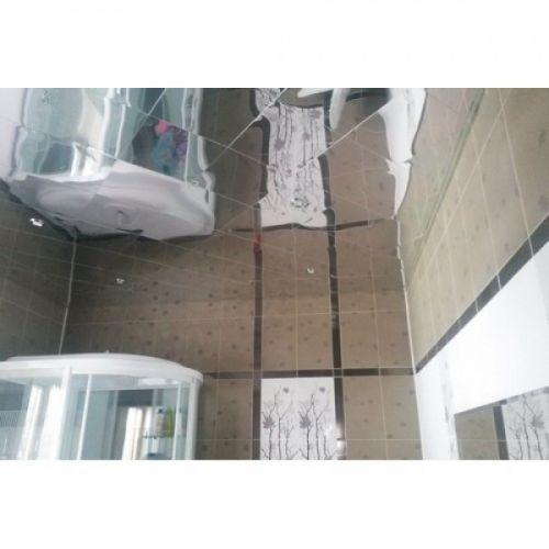 Кассетный потолок хром