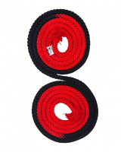 Скакалка гимнастическая двухцветная M-280TS-FIG Sasaki 3 м