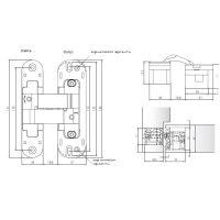 Скрытая петля Anselmi AN 141 3D (513). схема