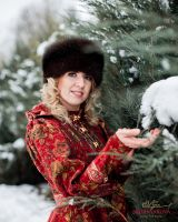 Женская кубанка из соболя пошив фото
