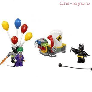 Конструктор Lari Бэтмен Побег Джокера на воздушном шаре 10626 (Бэтмен 70900) 135 дет