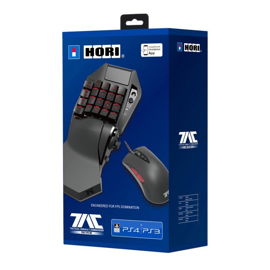 Игровая Мышь и Кейпад Hori T.A.C. Pro Type M2 (PS4-119E) (PS4,PS3)