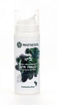 Мацеста - №5 Крем увлажняющий для лица на козьем молоке, 30мл