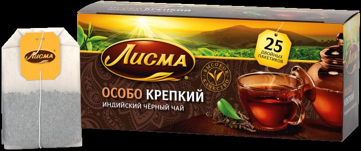 Чай Лисма Особо крепкий с/я 25пак